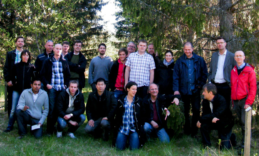 Genome project team photo